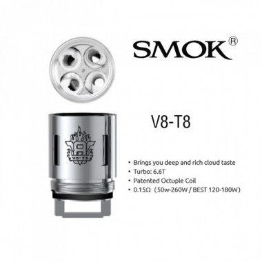 Coilhead Smok V8 P/ Atomizador Smok TFV8