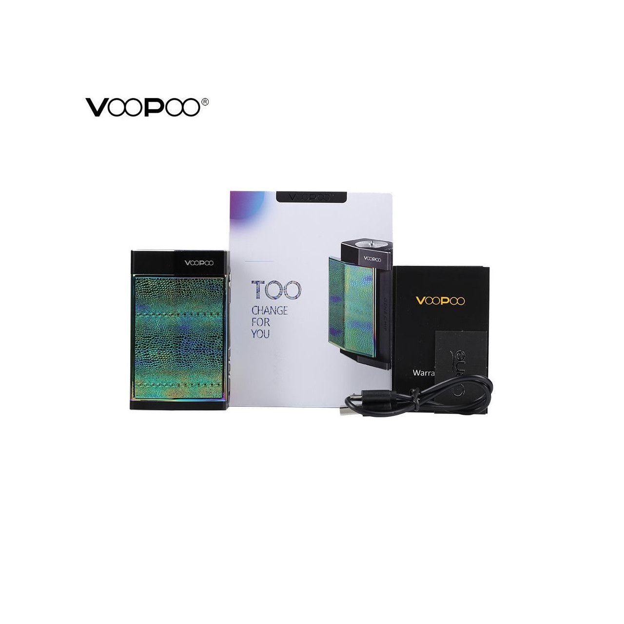 Vaporizador Voopoo Too 180w TC Box MOD (sem baterias)