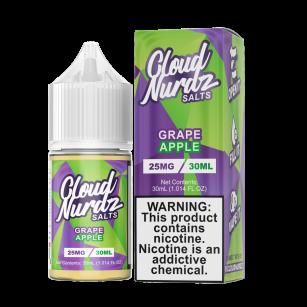 Líquido (Juice) - Nic Salt - Cloud Nurdz - Grape Apple