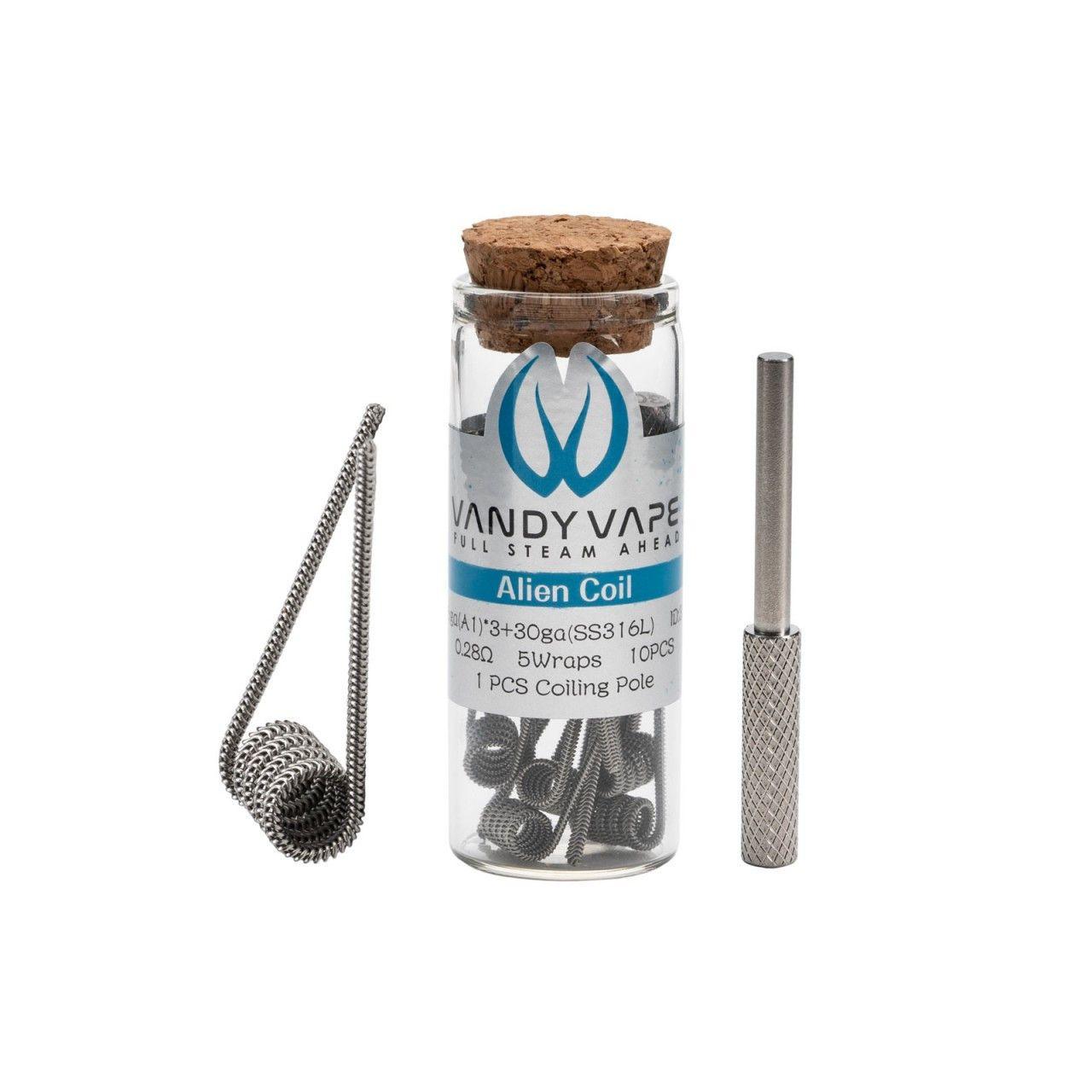 Coil Pré Construidas Vandy Vape Alien (10un) Vandy Vape - 1