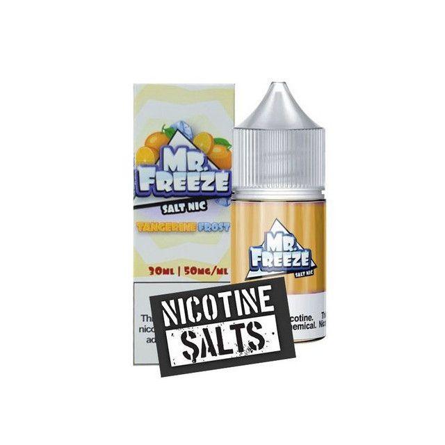 Líquido Nic Salt Mr Freeze Tangerine...