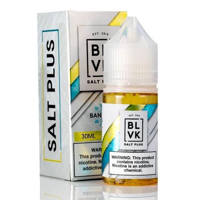 Blvk Salt Plus Banana Ice