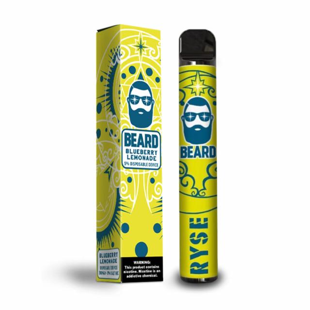 Pod Descartável - Beard 550mAh - 1000...