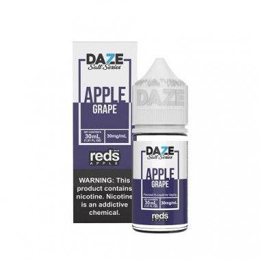 Líquido (Juice) - Nic Salt - 7 Daze - Reds Apple - Apple Grape