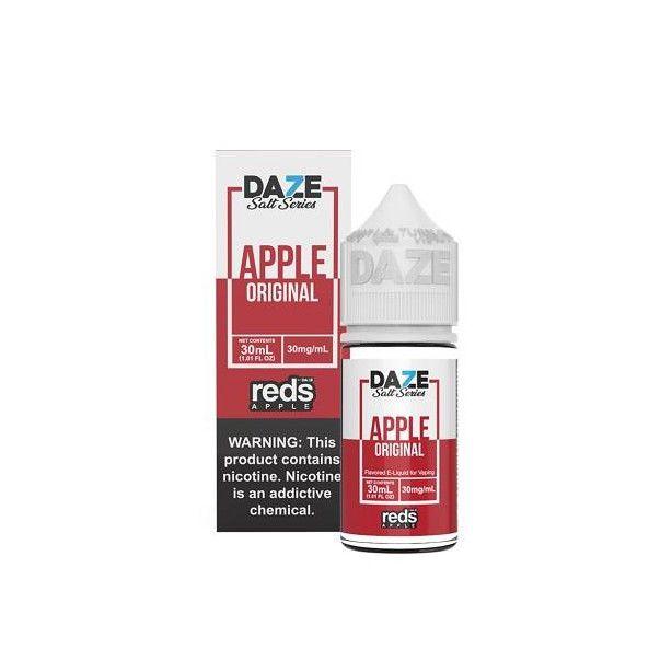 Juice Nic Salt 7 Daze - Reds Apple Original - 30ml