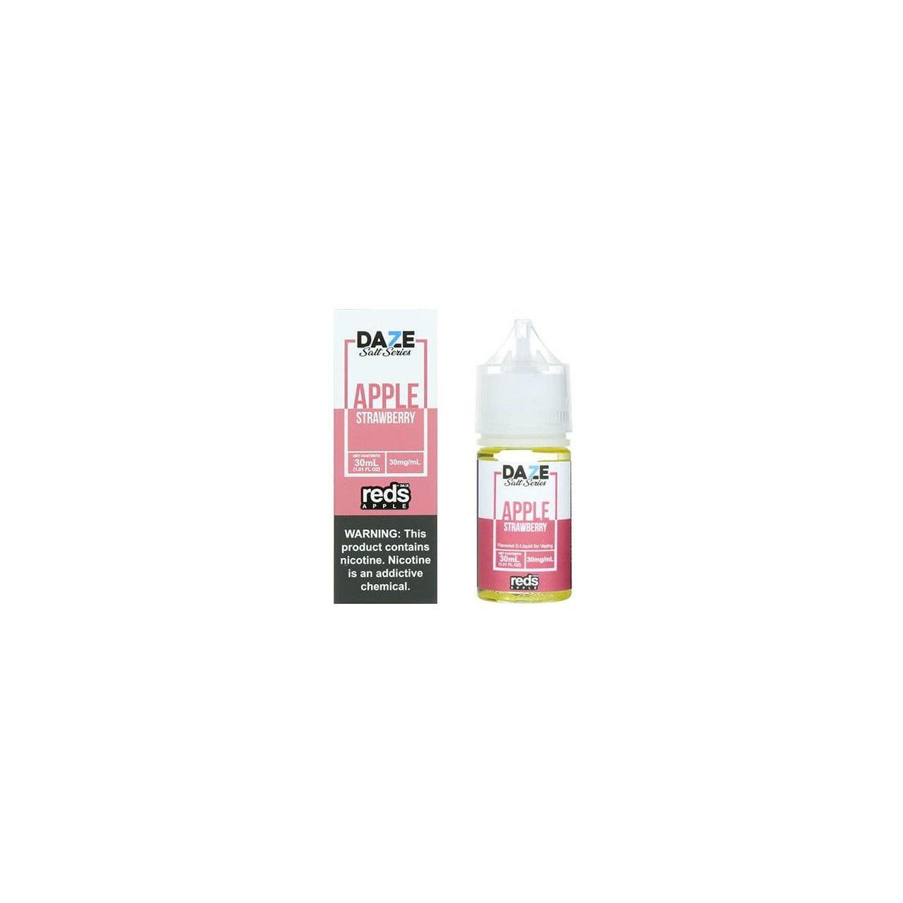 Líquido (Juice) - Nic Salt - 7 Daze - Reds Apple - Strawberry