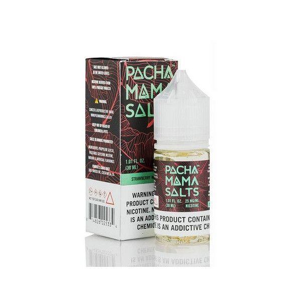 Líquido (Juice) - Nic Salt - Pachamama - Strawberry Watermelon