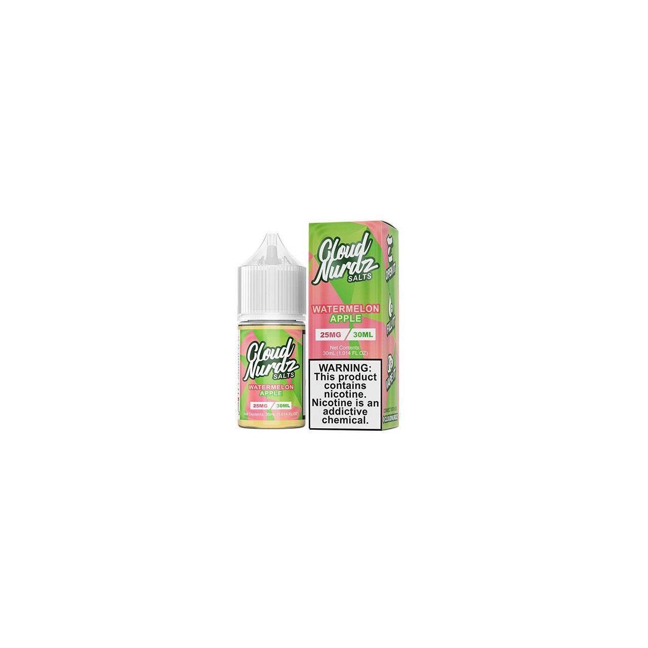 Líquido (Juice) - Nic Salt - Cloud Nurdz - Watermelon Apple