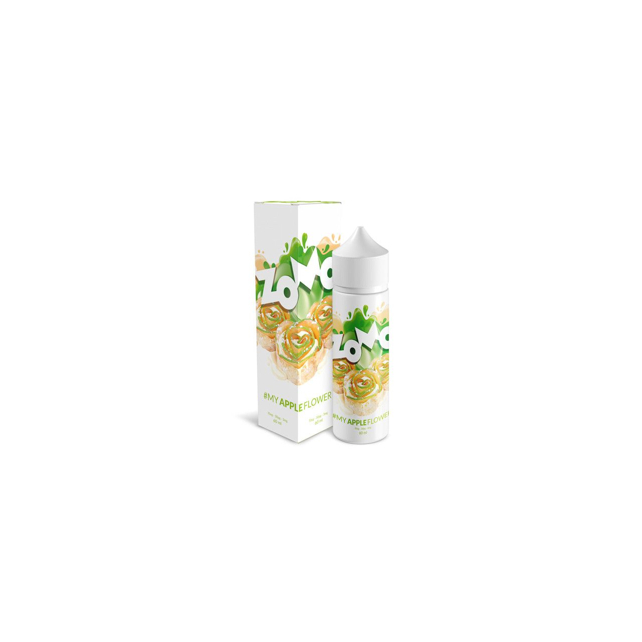 Líquido (Juice) - My Apple Flower - Zomo Vape