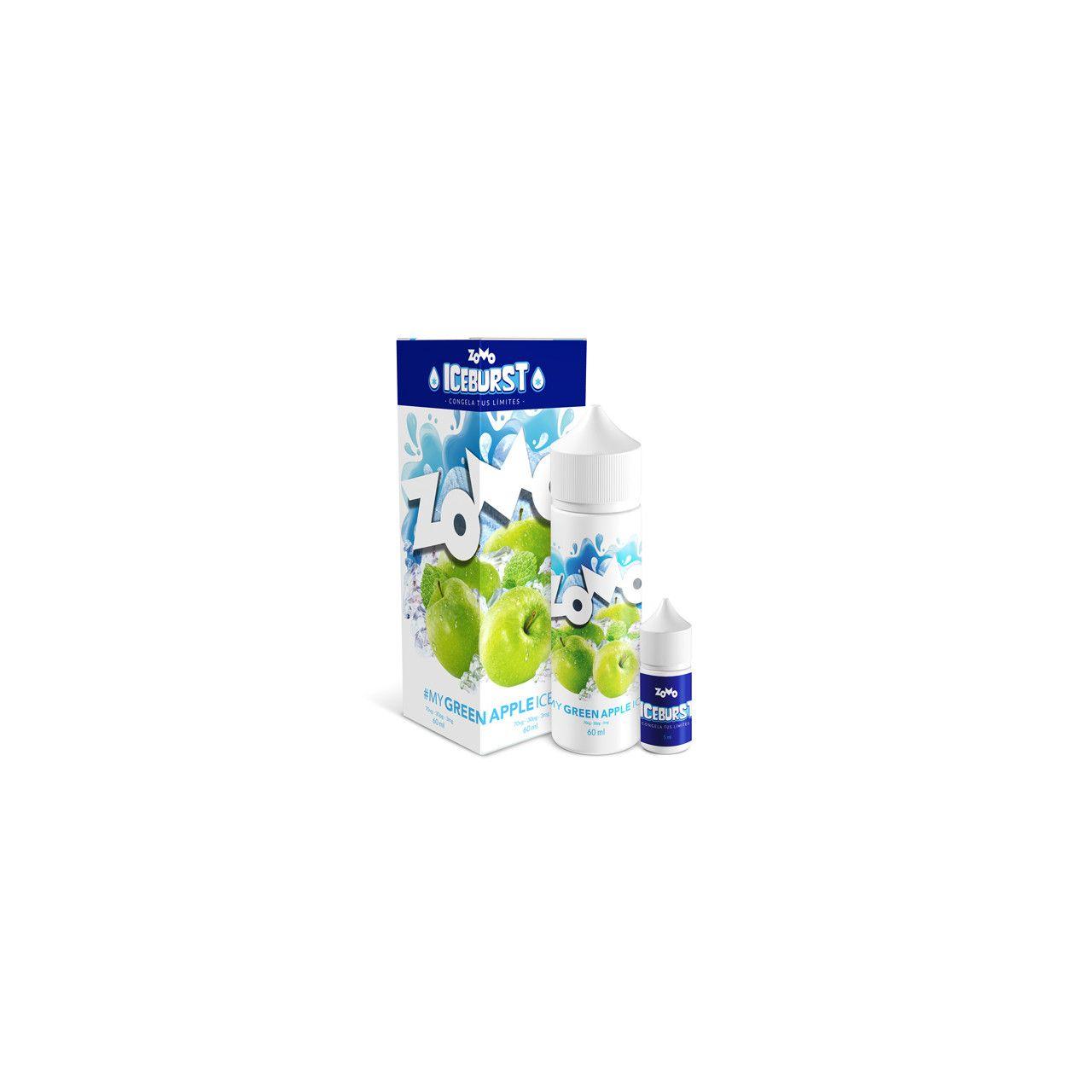 Zomo Vape - Green Apple - Iceburst - Juice Zomo Vape - 1