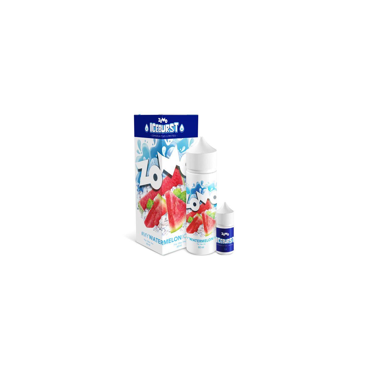 Líquido (Juice) - Watermelon - Iceburst - Zomo Vape