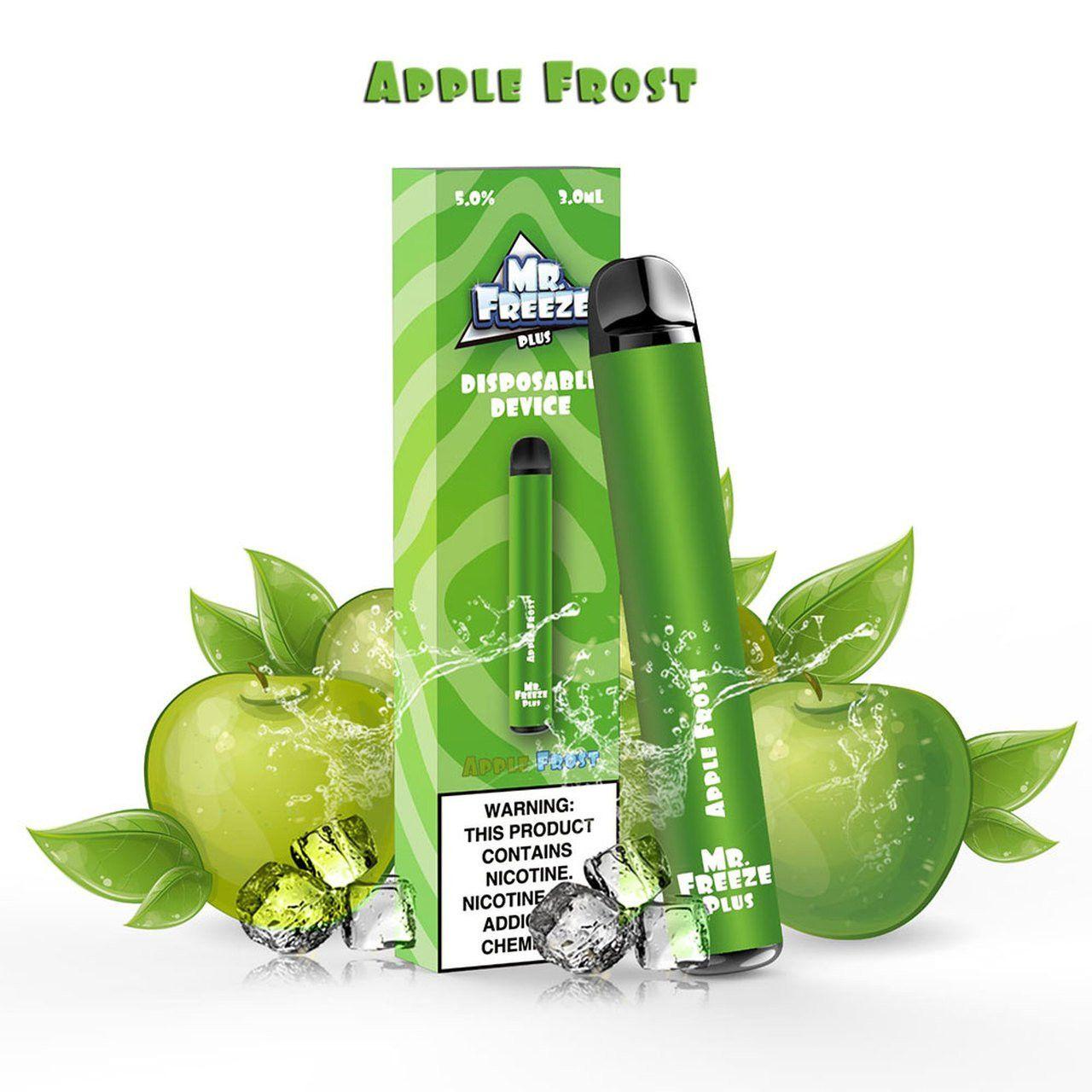 Pod Descartável - Mr. Freeze - 800 puffs - Diposable - Apple Frost