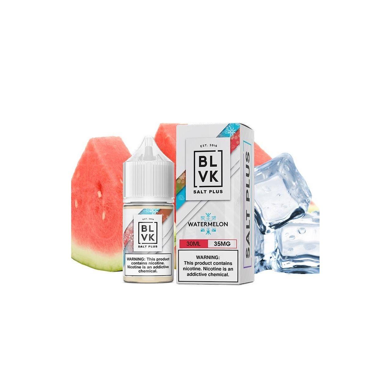 Líquido (Juice) - BLVK - Wartermelon - Salt Plus