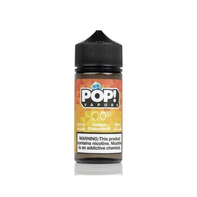 Líquido (Juice) - POP! Vapors - Mango Strawberry - Ice POP! Vapors - 1