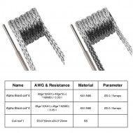 Coil (Bobina) - GeekVape - Hybrid - Alpha Braid Coil - detalhes
