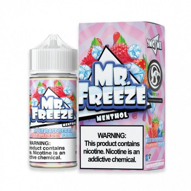 Líquido - Mr Freeze - Blue Raspberry Strawberry Frost Mr. Freeze - 1