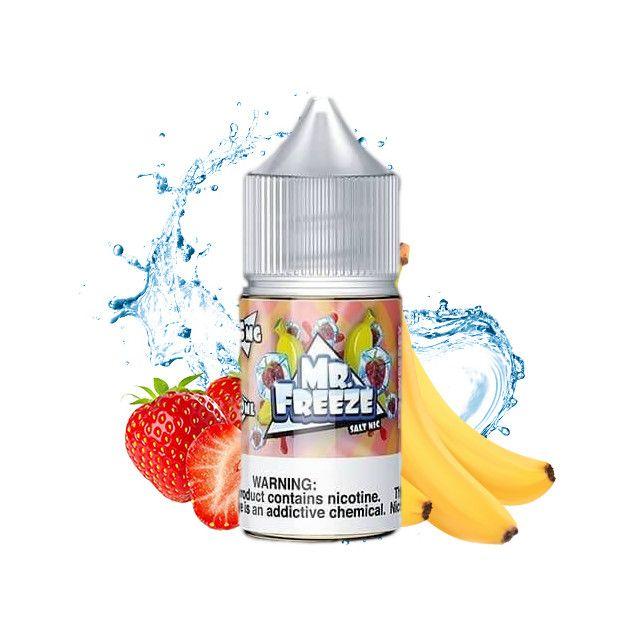 Juice - Nic Salt - Mr Freeze - Strawberry Banana Frost Mr. Freeze - 1