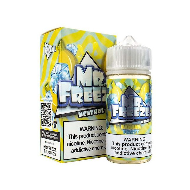 Líquido - Juice - Mr Freeze - Banana Frost