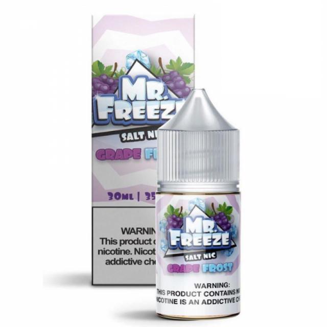Juice Nic Salt - Mr Freeze - Grape Frost