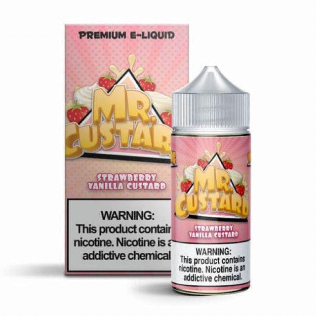 Strawberry Vanilla Custard - Mr Freeze - Juice Mr. Freeze - 1