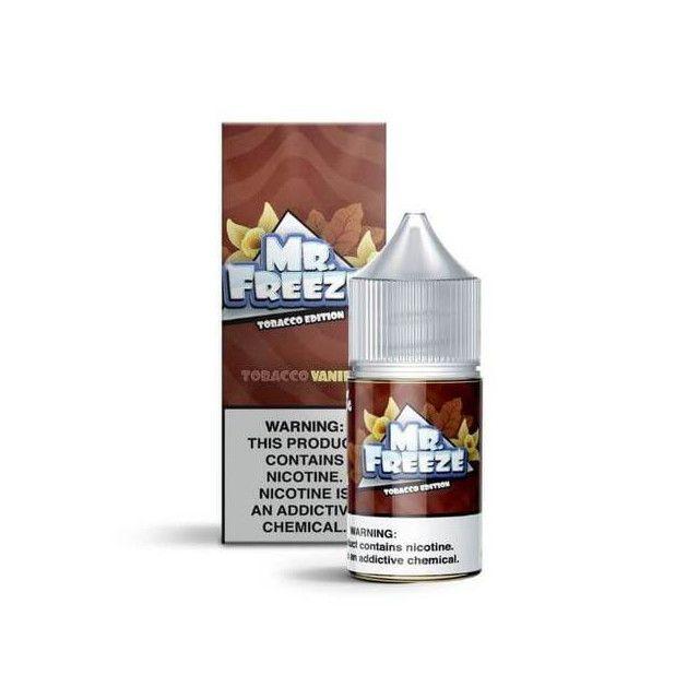 Líquido - Juice - Nic Salt - Mr Freeze - Tobacco Vanilla