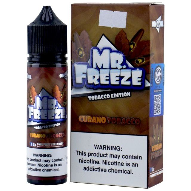 Líquido - Juice - Mr Freeze - Cubano Tobacco Mr. Freeze - 1