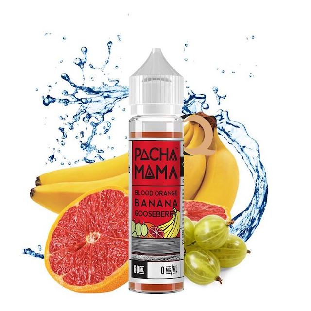 Juice - Pachamama - Blood Orange Banana Gooseberry Pachamama - 1