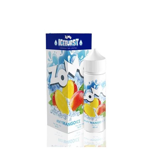 Juice - Zomo Vape - Mango - Iceburst - Líquido Zomo Vape - 1