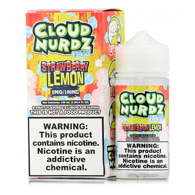 Cloud Nurdz - Strawberry Lemon ICED - Juice - Líquido Cloud Nurdz - 1