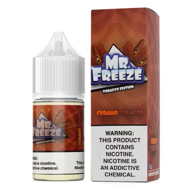 Mr Freeze - Cubano Tobacco - Nic Salt - Juice Mr. Freeze - 1