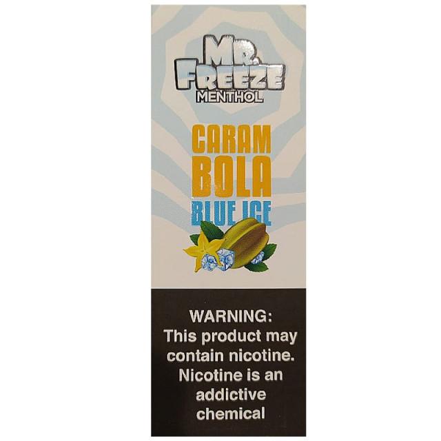 Mr Freeze - Carambola Blue Ice - Juice Mr. Freeze - 1