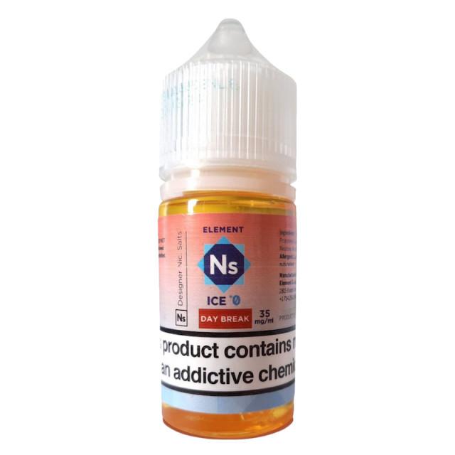 Juice - Element - Nic Salt - Day Break - Sub Zero - Ice  - 1