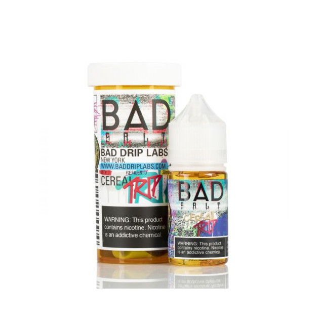 Bad Drip - Salt Nic - Cereal Trip - Líquido Bad Drip - 1