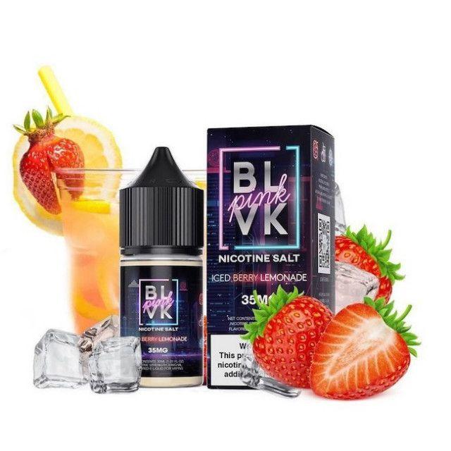 BLVK - Pink - Iced Berry Lemonade - Salt Nic - Juice BLVK - 1