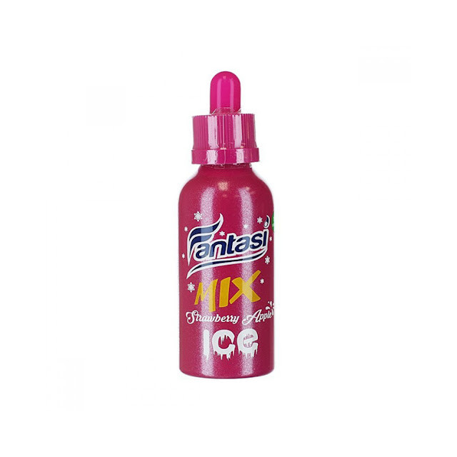 Fantasi - Juice Vape - Strawberry Apple Ice - 65ml Fantasi Eliquid - 1