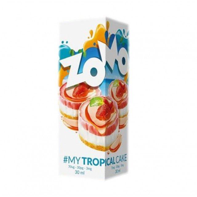 Líquido -Juice - Zomo Vape - Tropical Cake Zomo Vape - 1