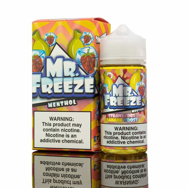 Mr Freeze - Juice - Vape - Strawberry Banana Frost Mr. Freeze - 1