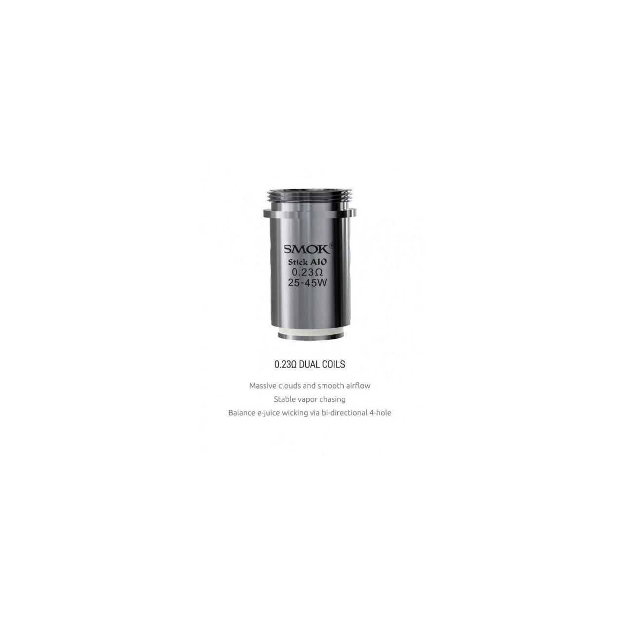 Coil Smok Stick Aio 0.23 ohm p/ Stick Aio e Priv One Kit
