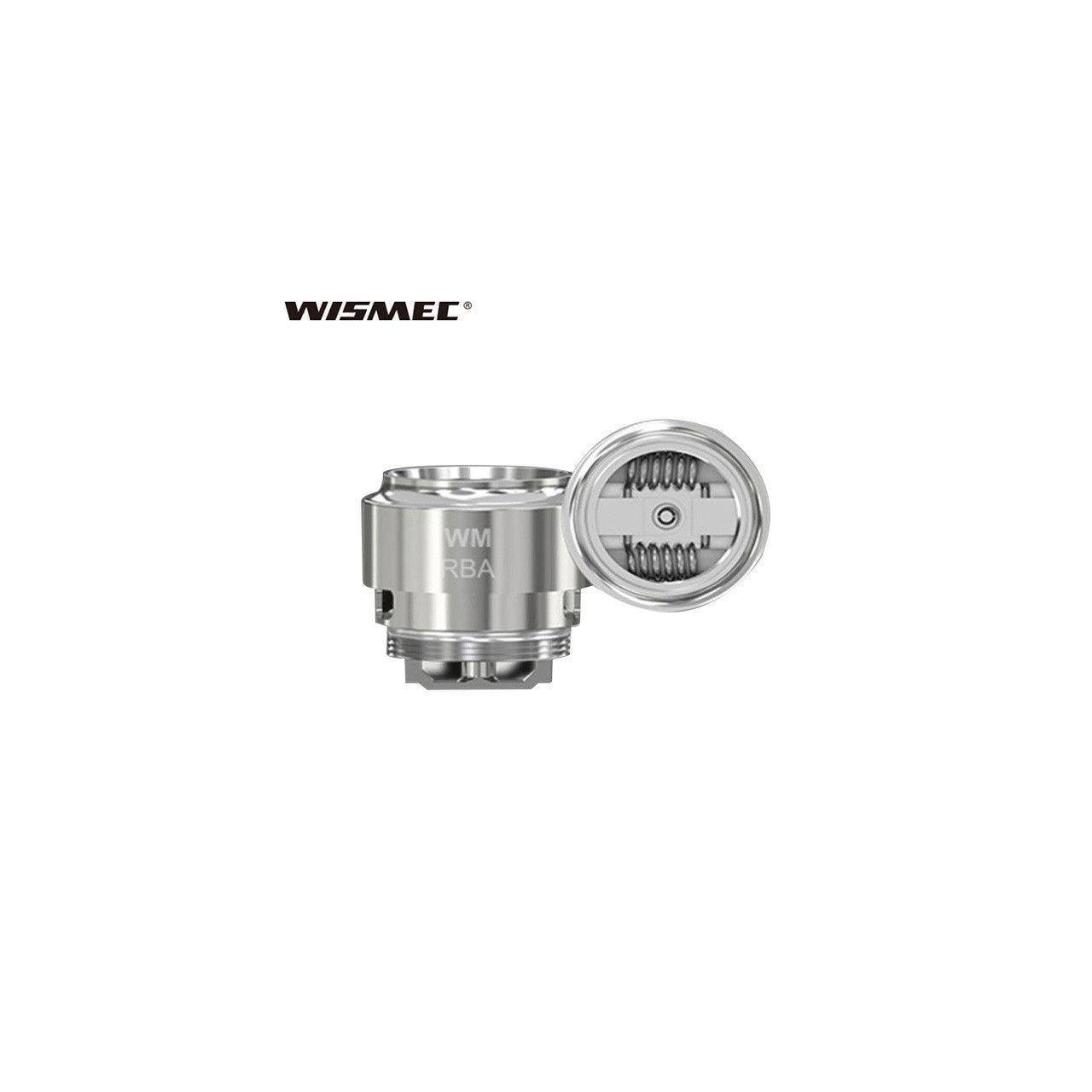 Coil WISMEC WM RBA p/ Atomizador Gnome